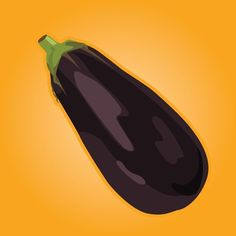 My eggplant from yesterday, finally posting :D E is for Eggplant! Weee ... #TheletterE #Eggplant #Project365 #project366 #TGIF #Purple #fruits #vegetables #ABC #nature #instaart #vector #illustration #graphicdesign #Chicago #design #icons #illustrator #march #2016 #daily