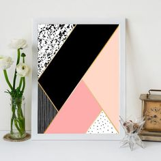 Diy Canvas Art 94407 Decorative Frame with White Geometric Frame - Small Canvas Paintings, Easy Canvas Art, Small Canvas Art, Diy Canvas, Canvas Wall Art, Acrylic Paintings, Diy Wand, Diy Wall Painting, Tape Painting