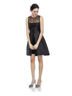 This sweet piece is perfect for getting down and twirling your skirt at any late night reception. DR... - Cynthia Rowley