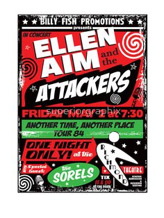Ellen Aim & the Attackers by superiorgraphix