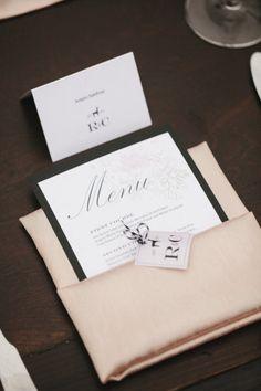 #ido #inspiration #wedding #menu #tablesetting