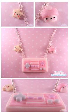 Ploymer clay + kawaii = adorable♡