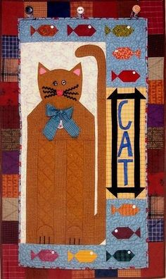 Cat Quilt #diy #crafts