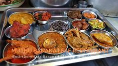 Muthu Banana Leaf Restaurant – Original Muthu Chettinad Mess Banana Leaf Plates, Banana Leaf Rice, Black Pepper Chicken, Parboiled Rice, Fish Curry, Chicken Stuffed Peppers, The Dish, Rice Recipes