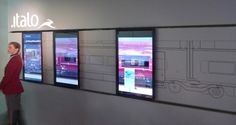 and interactive exhibition for NTV Nuovo Trasporto Viaggiatori InnoTrans, Messe Berlin, September 2012 ArteFiera, Bologna, January 2013 NTV Interactive Wall is a project in collaboration with architecture studio DONTSTOP. The idea is that to convey to […] Interactive Exhibition, Interactive Walls, Interactive Display, Interactive Installation, Artistic Installation, Exhibition Display, Exhibition Space, Interactive Media, Interaktives Design