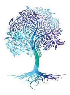 """The """"Live Fully"""" tree is a beautiful statement of all God offers us. """"Your roots will grow down into God's love and keep you strong"""" (Ephesians - Today Pin - The """"Live Fully"""" tree is a beautiful statement of all God offers us. """"Your roots will grow do - Tree Roots Tattoo, Tree Tattoo Back, Tree Of Life Art, Tree Art, Celtic Tree Of Life, Tattoo Life, Handprint Art, Tattoos With Meaning, Ephesians 3"""