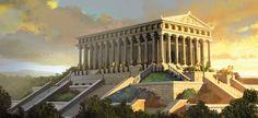 """Képtalálat a következőre: """"Temple of Diana rome"""""""
