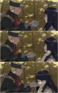 Awwww this is soo sweeettt T-T my lil heart cant take it. Hinata Hyuga, Naruhina, Naruto Shippuden, Boruto, Naruto Y Hinata, Naruto Cute, Shikamaru, Ninja, Naruto Pictures
