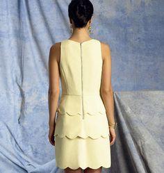 V1398   Misses' Dress   New Sewing Patterns   Vogue Patterns