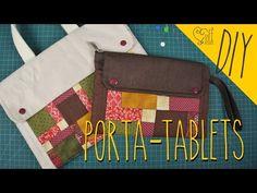 DIY ::: Porta - Tablets - By Fê Atelier - YouTube