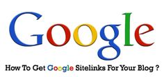 How to Get Google Sitelinks for your Blog #google #sitelinks #seo