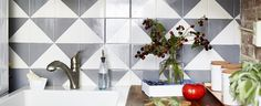 Upgrade Your Backsplash With This Affordable Trick