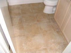 13 X 13 inch tile floor