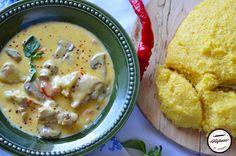 Ciulama de pui cu ciuperci   Prăjiturici și altele Hummus, Ice Cream, Cake, Ethnic Recipes, Frugal, Zero, Food, No Churn Ice Cream, Icecream Craft