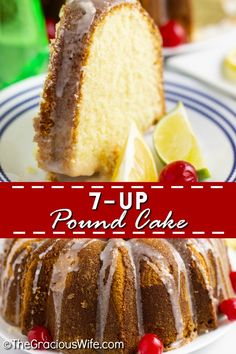 Old-fashioned homemade Pound Cake made the from scratch Southern way for a zingy lemon, light, and fluffy cake topped with a sweet lemon glaze. It's a super easy recipe that makes a moist and delicious cake. The best pound cake you'll ever have! 7up Pound Cake, Pound Cake Recipes, Seven Up Cake, Delicious Desserts, Dessert Recipes, Lemon Desserts, Cookie Recipes, Yummy Food, Light Cakes