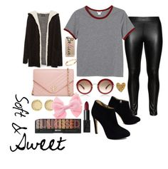 """Soft & Sweet"" by teennetwork ❤ liked on Polyvore featuring Marc by Marc Jacobs, Studio, Giuseppe Zanotti, Tory Burch, Casetify, Cachet, Monki, Zara and NARS Cosmetics"