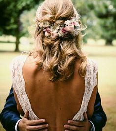My hair length Wedding Hair And Makeup, Bridal Hair, Hair Makeup, Pretty Hairstyles, Wedding Hairstyles, Dream Wedding, Wedding Day, Spring Wedding, Hair Inspiration