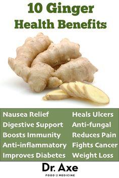 10 Medicinal Ginger Health Benefits - DrAxe.com