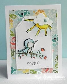 images paper smooches bird cards - Google Search