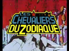 Le générique des Chevaliers du zodiaque, l'hymne de mon enfance. Définitivement mon dessin animé préféré de l'époque.