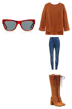 """""""Untitled #2445"""" by angfra ❤ liked on Polyvore featuring Preen, WithChic and Prada"""