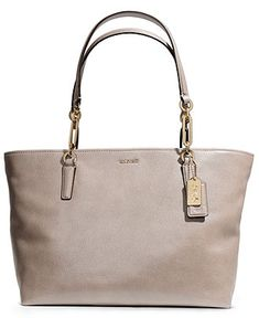 8b16dff22bc48d COACH MADISON EAST WEST TOTE IN LEATHER Handbags   Accessories - COACH -  Macy s