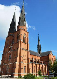 Uppsala Cathedral - Uppsala, Sweden