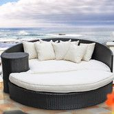 Found it at Wayfair - Taiji Outdoor Daybed with Ottoman & Cushions (upstairs on deck)