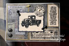 Made For Keeps: Father's Day Card using Tim Holtz The Journey