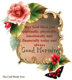 Good Morning Blessings and  greetings.
