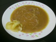 GINGER ONION SAUCE WITH SWEET PRICKLE GINGER