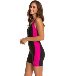 Waterpro Polyester Splice Unitard at SwimOutlet.com - Free Shipping 80f4afd45