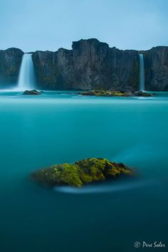 Waterfall of Gods, Iceland