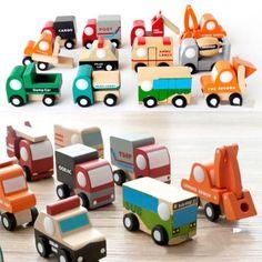 Stylish-12Types-Mini-Vehicle-Car-Engine-Model-Wooden-Toy-For-Kid-Children-Baby ****************************************  eBay: מכונית משחק קטנה מעץ מ-6 ₪ + משלוח חינם! דגם יישלח אקראית