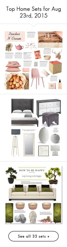 """""""Top Home Sets for Aug 23rd, 2015"""" by polyvore ❤ liked on Polyvore featuring interior, interiors, interior design, home, home decor, interior decorating, Kay Bojesen, Muuto, CB2 and Room Essentials"""