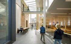 Bibliotheek – Deventer | Hanratharchitect Conference Room, Outdoor Decor, Table, Furniture, Home Decor, Decoration Home, Room Decor, Meeting Rooms, Tables