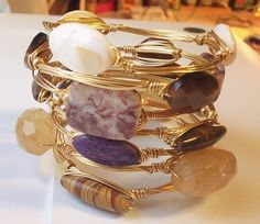 Some great fall bangles available now! https://devinashtondesigns.squarespace.com