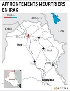 Une vingtaine de morts lors de heurts à Mossoul - http://www.andlil.com/une-vingtaine-de-morts-lors-de-heurts-a-mossoul-117100.html