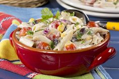 Southwest Macaroni Salad | MrFood.com