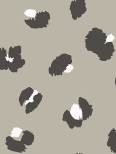 This stunning Large Leopard Spot Wallpaper will bring a stylish contemporary feel to your home. The design features a large scale leopard print pattern in black and white, set on a soft taupe background with a smooth matte finish. Easy to apply, this wallpaper will look great when used to decorate a whole room or to create a beautiful feature wall. Leopard Print Wallpaper, Leopard Print Background, Spotted Wallpaper, Animal Wallpaper, Wild Creatures, Leopard Spots, Paper Wallpaper, High Quality Wallpapers, Safari Animals