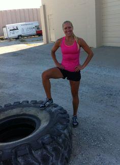 Blonde Ponytail Fitness Blog