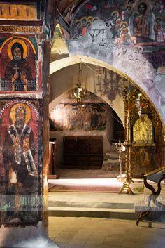 Agios Ioannis Lampadistis Monastery, Marathasa, Cyprus