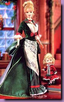 2000-Barbie Victorian Holiday 2000