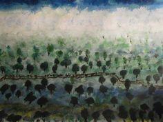 """""""Flood in Safita"""" Painted By Fadi Abu-Deeb"""