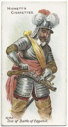 Arms & Armour - 37 - A couirassier - 1642. Time of Battle of Edgehill.
