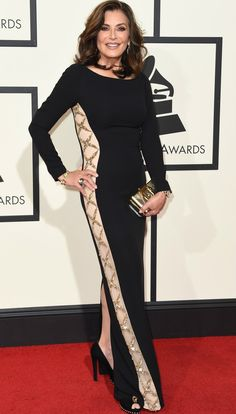 Denise Donatelli no Grammy 2016 (Foto: Getty Images)