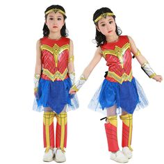 Special Use: CostumesMaterial: PolyesterComponents: Skirts,TopGender: GirlsItem Type: SetsModel Number: Wonder Woman Cosplay CostumeSource Type: AnimeBrand Name: FinssyCharacters: Wonder Woman Girl Costumes, Costumes For Women, Cosplay Costumes, Cosplay Ideas, Halloween Cosplay, Halloween Costumes For Kids, Easy Anime Cosplay, Wonder Woman Cosplay, Kids Outfits