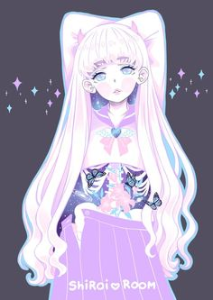 best -creepy cute -pastel guro -menhera images on pinter Kawaii Anime, Art Kawaii, Arte Do Kawaii, Manga Art, Manga Anime, Anime Art, Gothic Kunst, Candy Gore, Girls Manga