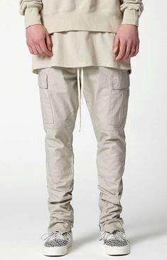 Essentials FOG Fear of God Men's Cotton Joggers Red