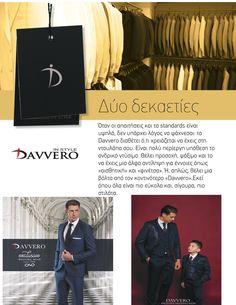 Παράδοση στο ανδρικό κοστούμι Τα ανδρικά κοστούμια Davvero αποτελούν σήμα κατατεθέν για το γαμπριάτικο ντύσιμο. Διαθέτοντας μεγάλη παράδοση που ξεκινά από το 1990 μέχρι σήμερα, δηλώνουμε ιδιαίτερα υπερήφανοι που τα ανδρικά κοστούμια Davvero έχουν συνοδέψει τις πιο λαμπερές στιγμές σας. Διαχρονική έμφαση σε ποιότητες & υφάσματα εκλεκτής ποιότητας μαζί με τη διάθεση να καλύψουμε απόλυτα κάθε απαίτηση ενός σύγχρονου άνδρα χαρακτηρίζουν τα ανδρικά κοστούμια Davvero. Movies, Movie Posters, Style, Swag, Film Poster, Films, Popcorn Posters, Film Books, Movie